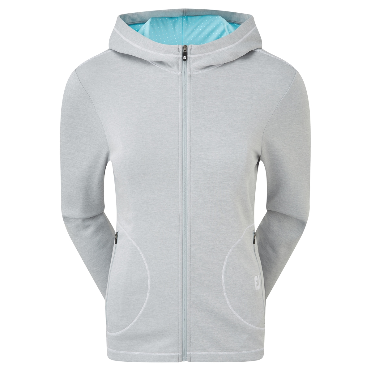 Double Layer Jersey Hoodie Women