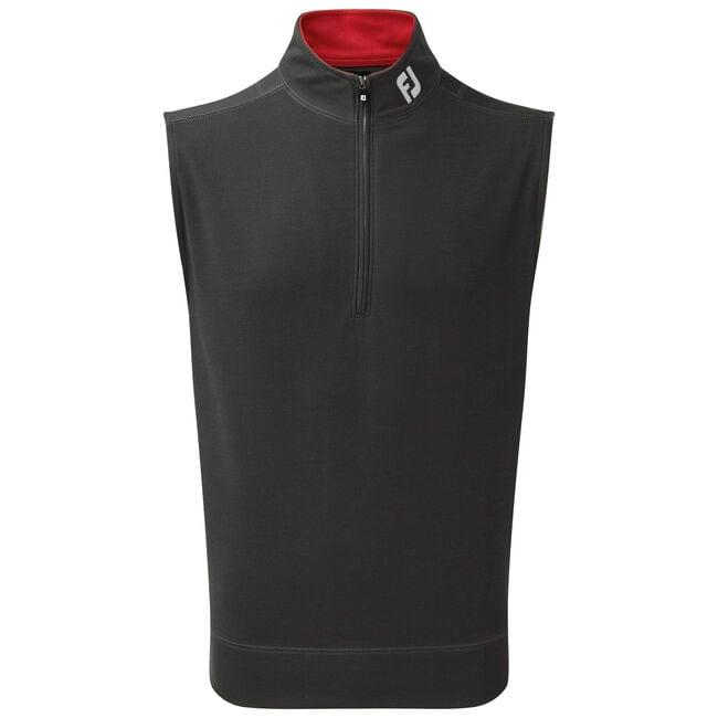Spun Poly Half-Zip Vest-Previous Season Style