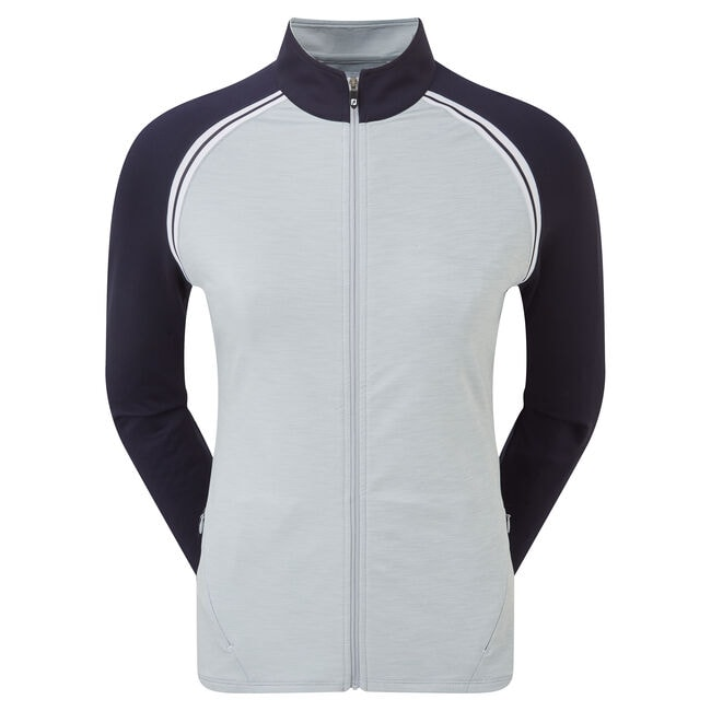 French Terry Full Zip Colour Block Women