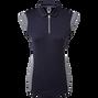 Mikro-Interlock-Shirt mit 1/2-Cap-Ärmeln