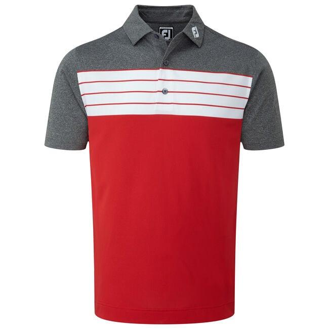 Stretch Pique Striped Colour Block-Previous Season Style